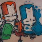 Castle Crashers Tattoo