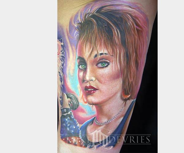 80s madonna tattoo 80s Tattoos That Are Totally Rad