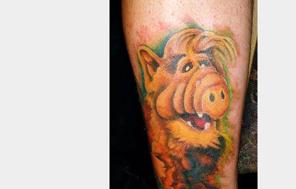 Alf tattoo 80s Tattoos That Are Totally Rad