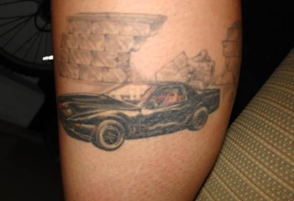 Kitt Knight Rider Tattoo 80s Tattoos That Are Totally Rad
