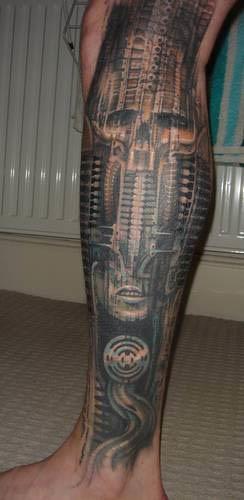 biomechanics tattoos. iomechanical tattoo,
