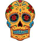 Sugar Skull Tattoo Flash