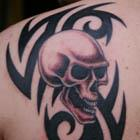 Tribal Skull Tattoo