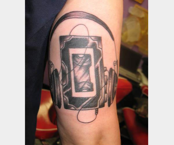 walkman tattoo 80s Tattoos That Are Totally Rad