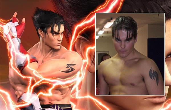 Tekken Jin Tattoo <br />iat Video Game Characters with Cool Tattoos