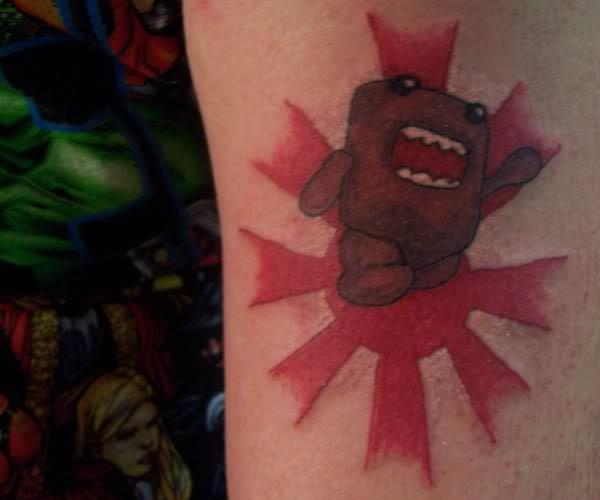 domo kun tattoo Internet Tattoos Are Serious Business