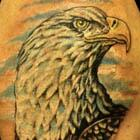 Proud Bald Eagle Tattoo