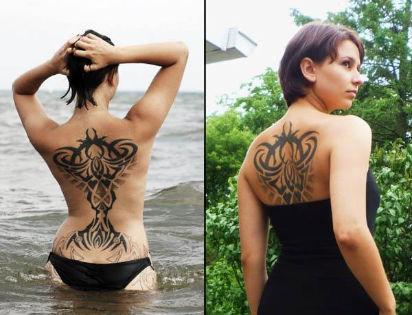 sexy tribal back piece Sexy Tribal Back Piece