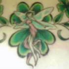 Irish Clover Fairy Tattoo