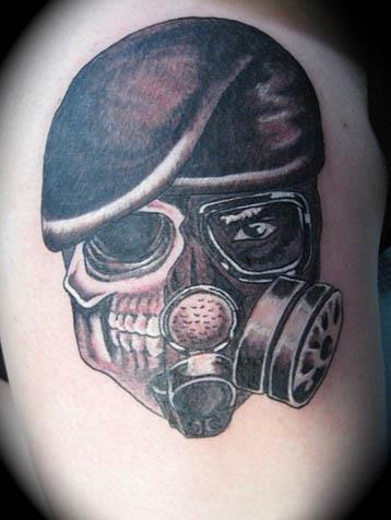 Weird Skull Tattoo Design Skull Joker Tattoos Skull Tattoos