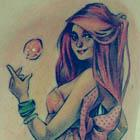 Loish Pin-Up Girl Tattoo