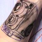 Stop Motion Tattoo Appears Like Magic