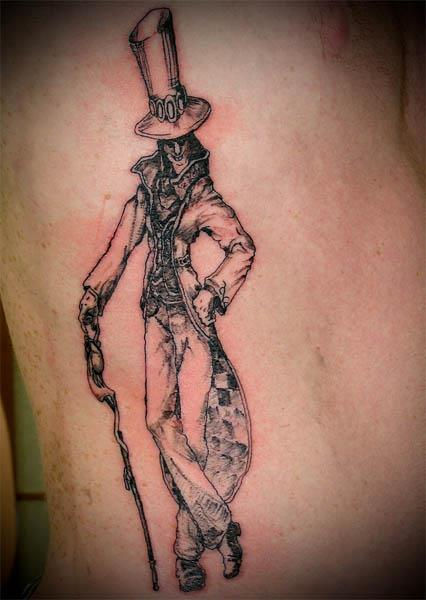 creepy original mad hatter tattoo Ink in Wonderland: 25 Mad Alice in