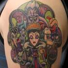 Disney Villains Tattoo