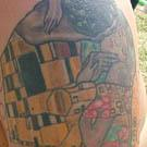 Gustav Klimt The Kiss Tattoo