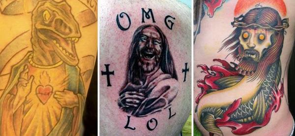 OMG WTF Jesus Tattoos OMG! WTF Jesus Tattoos