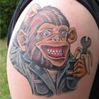 21 Awesome Monkey Tattoos