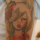 Audrey Kawasaki Tattoo