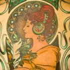 Mucha Ink Back Tattoo