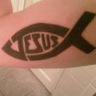 Jesus Fish Tattoo