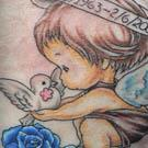 Precious Cherub Tattoo