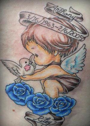precious cherub tattoo Precious Cherub Tattoo